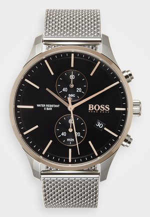 ASSOCIATE - Chronograph watch - silver-coloured