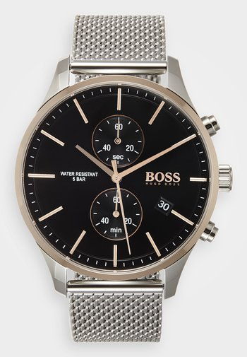 ASSOCIATE - Chronograph watch - silver-coloured