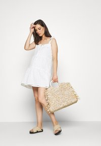 Missguided Maternity - CAMI MINI DRESS - Day dress - white - 1
