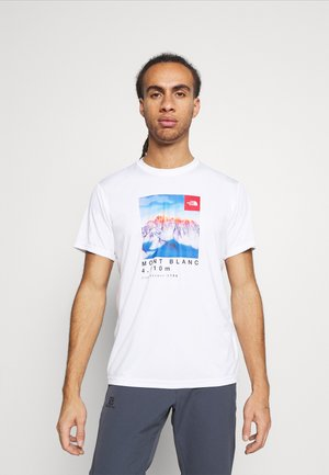 ALPS FIRST ASCENT - T-shirt z nadrukiem - white