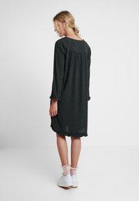Saint Tropez - WOVEN DRESS ON KNEE - Day dress - black - 3
