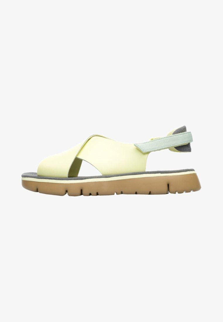 Camper - ORUGA - Sandalias de senderismo - light yellow