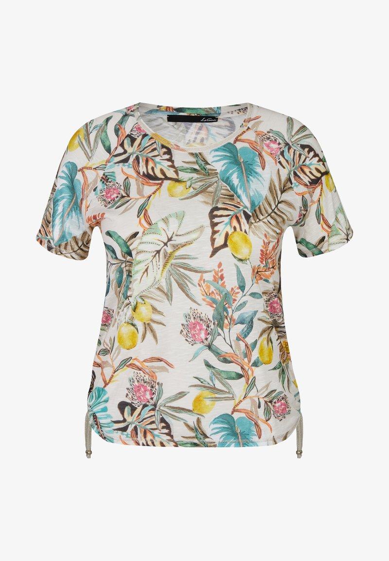 LeComte - Print T-shirt - grün