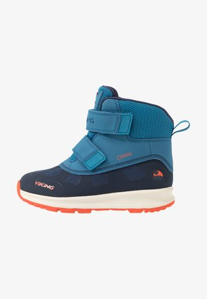 TOBY GTX - Hiking shoes - navy/petrol