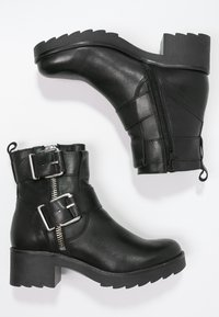 Zign - Cowboy/biker ankle boot - black - 2