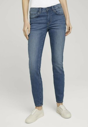 ALEXA  - Slim fit jeans - light stone wash denim