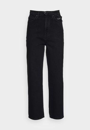 FJELL - Straight leg jeans - multi/worn sapphire black