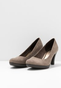 Marco Tozzi - Classic heels - taupe - 4