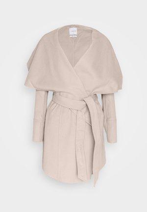 WILLOW WRAP COATS - Classic coat - mink