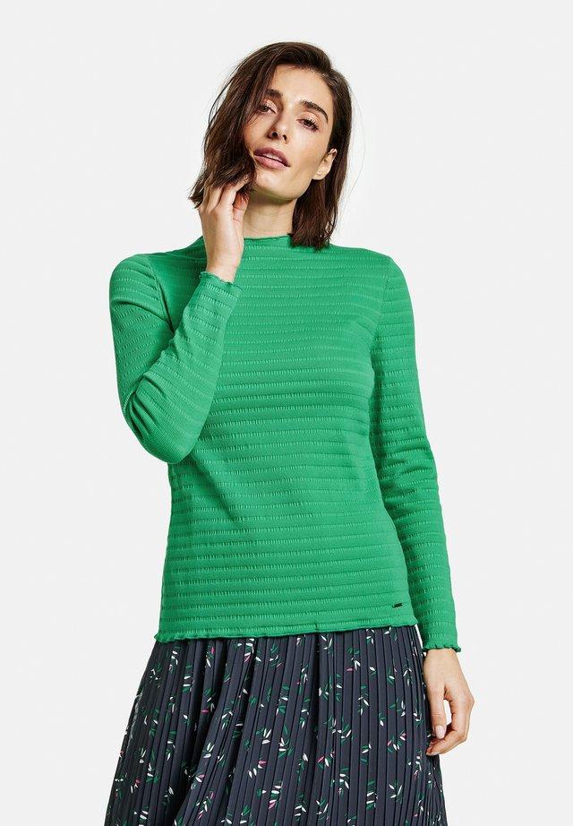 T-shirt à manches longues - vibrant green