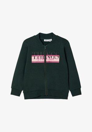 Zip-up hoodie - darkest spruce