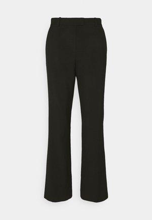 CRIS CLASSIC - Spodnie materiałowe - black