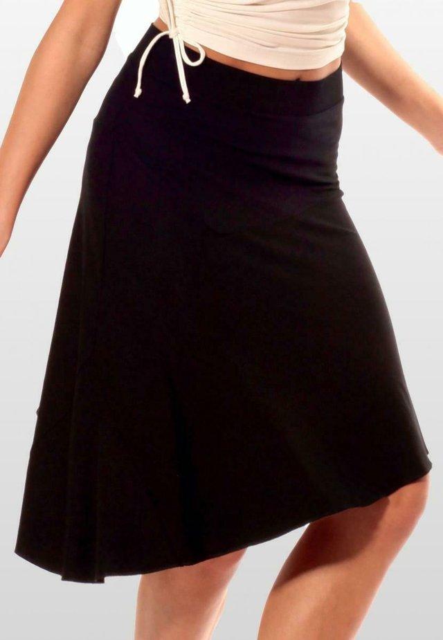 BERLIN - A-line skirt - schwarz