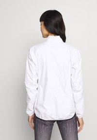 Vaude - DROP JACKET - Hardshellová bunda - white - 2