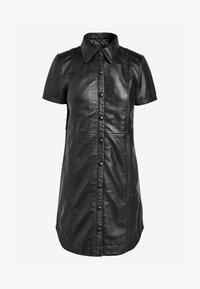 Next - Shirt dress - black - 3