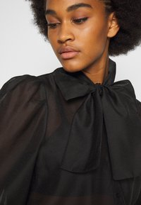 Vero Moda - VMBRIANA - Button-down blouse - black - 5