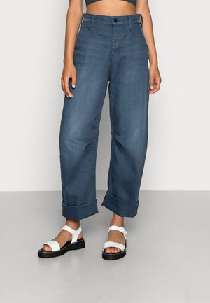 EVE 3D WIDE LEG - Relaxed fit jeans - worn in rivulet