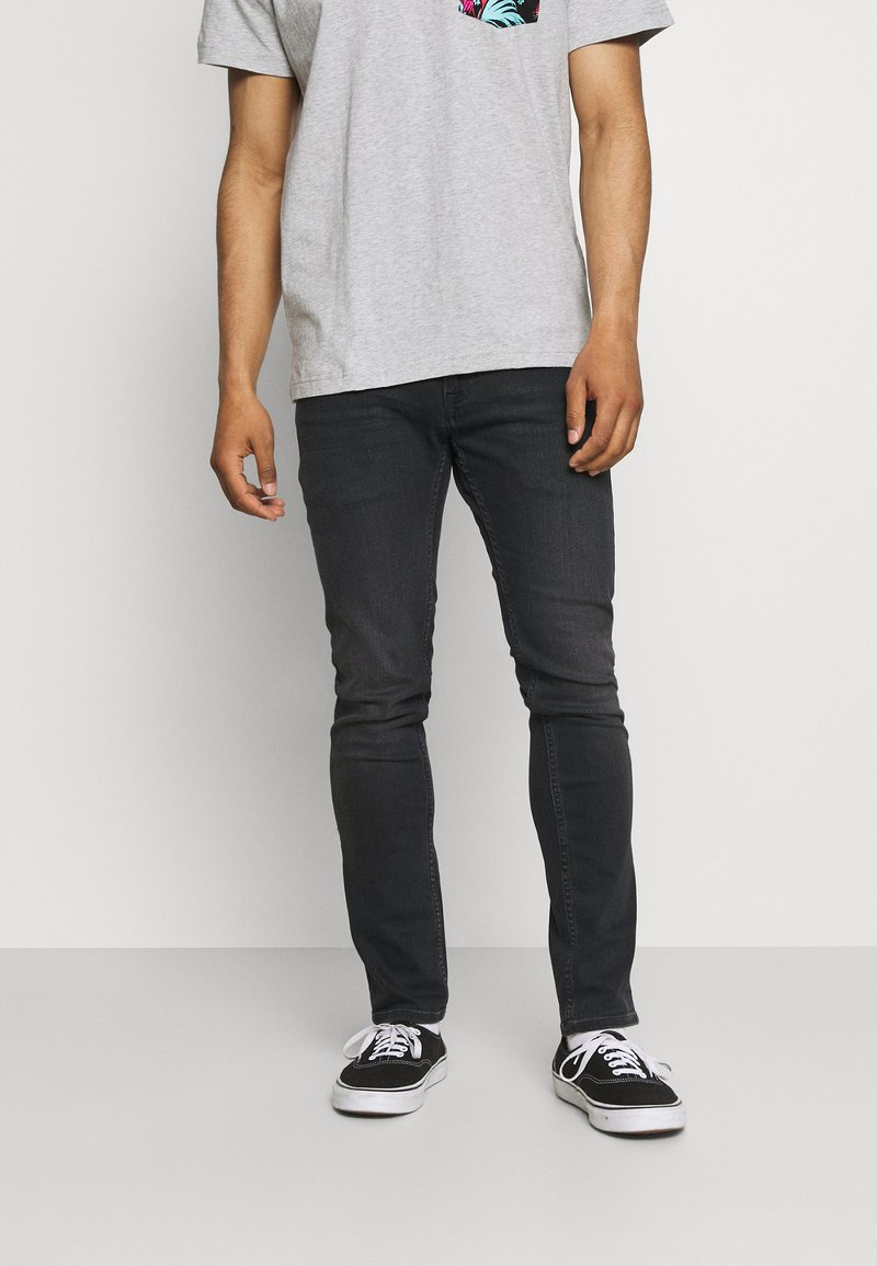 Tommy Jeans - SCANTON SLIM - Slim fit -farkut - black denim