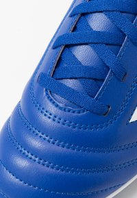adidas Performance - COPA 20.4 FG - Moulded stud football boots - royal blue/footwear white - 2