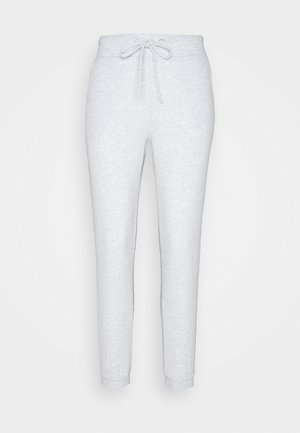 ANDREA HIGH WAIST JOGGERS - Tracksuit bottoms - grey melange
