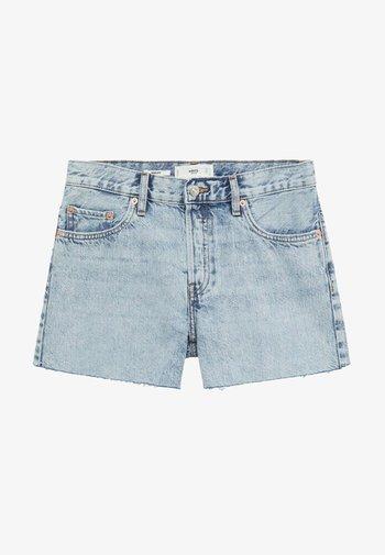 HAILEY - Jeansshorts - bleu clair