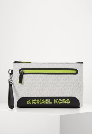 SPORT ZIP POUCH - Trousse - white/neon yellow