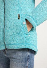 Schmuddelwedda - Winter jacket - türkis melange - 3