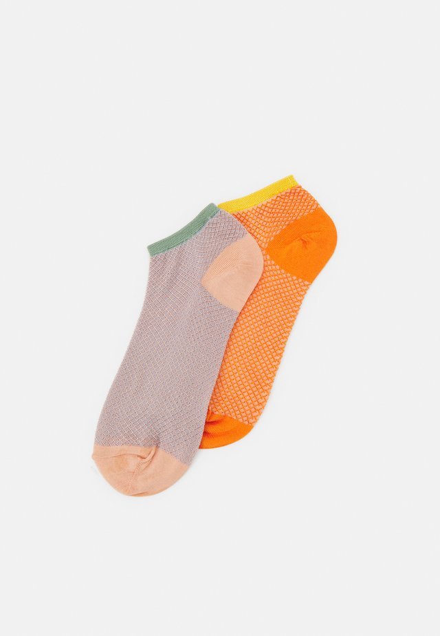 MIX SOCK 2 PACK - Calze - dustypink/russet