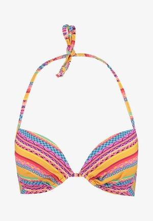 PUSH UP - Top de bikini - yellow