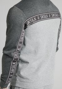 SIKSILK - ARC TECH FADE CREW - Sweater - grey marl - 5