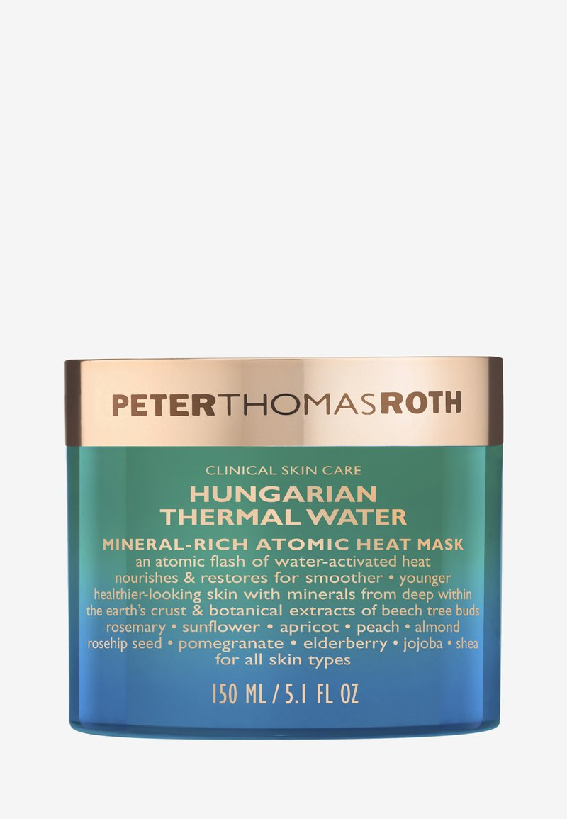 Peter Thomas Roth - HUNGARIAN THERMAL WATER MINERAL-RICH ATOMIC HEAT MASK - Masker - -