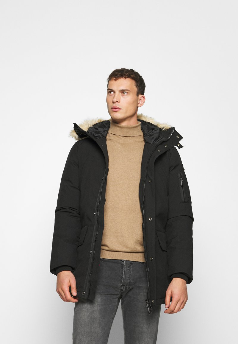 Schott - NELSON - Winter coat - black
