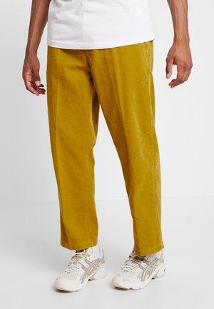HARDWORK CARPENTER PANT - Pantalon classique - golden palm