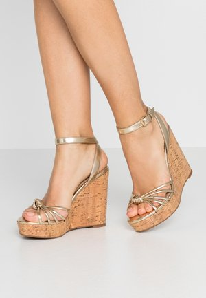KAOEDIA - High heeled sandals - gold