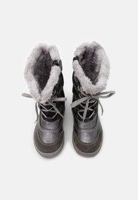 Lurchi - ALPY TEX - Zimní obuv - dark grey - 3