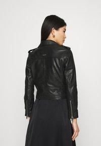 Deadwood - JOAN JACKET - Leather jacket - black - 2