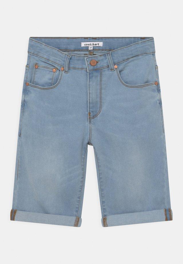 JOWIE - Jeansshort - light blue denim