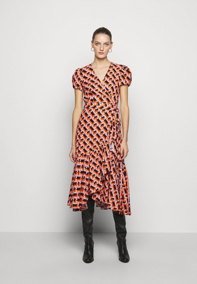 Diane von Furstenberg - VIENNA - Vapaa-ajan mekko - orange