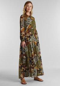 Esprit - Maxi dress - olive - 2