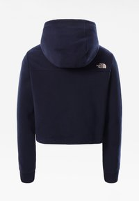 The North Face - G DREW PEAK CROPPED P/O HOODIE - Jersey con capucha - tnf navy - 1
