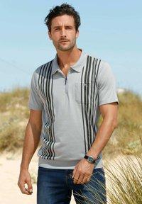 Roger Kent - Polo shirt - silbergrau dunkelgrau - 2