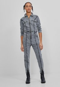 Bershka - Jumpsuit - dark grey - 0