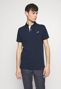 Hollister Co. - HERITAGE SOLID NEUTRALS - Polo - navy - 0