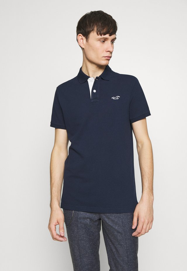 HERITAGE SOLID NEUTRALS - Polo - navy