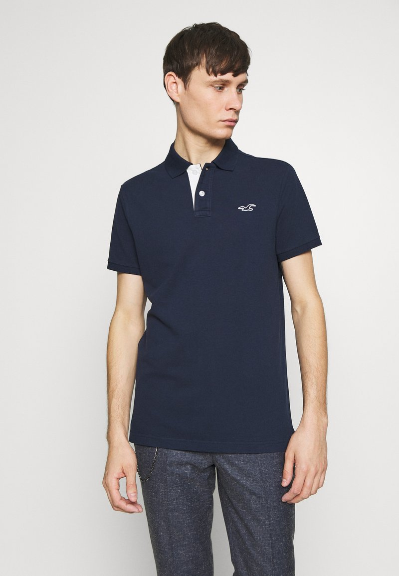Hollister Co. - HERITAGE SOLID NEUTRALS - Polo - navy