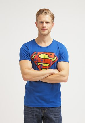 SUPERMAN - Print T-shirt - azure blue