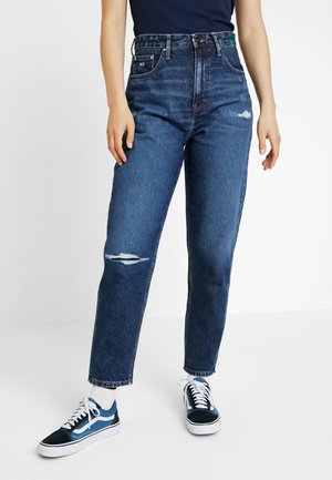 HIGH RISE - Relaxed fit jeans - save