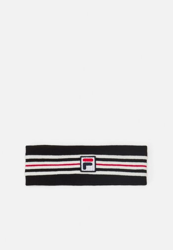 INTARSIA HEADBAND WITH BOX LOGO UNISEX