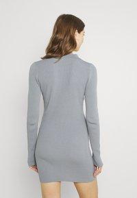Bec & Bridge - HARPER KNIT MINI DRESS - Jumper dress - storm - 2