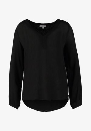 AMBER BLOUSE - Tunic - black